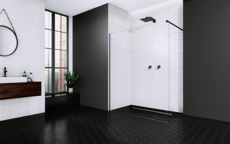 Душевой уголок Radaway Walk-in Modo II New Black 115
